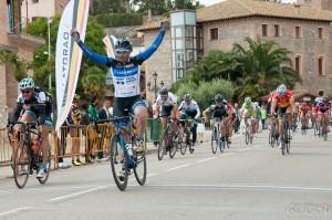 Ganador. Foto: Club Joves Ciclistes Amposta