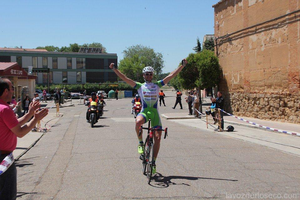 Larrea vencedor en Rioseco. Foto: La Voz de Rioseco