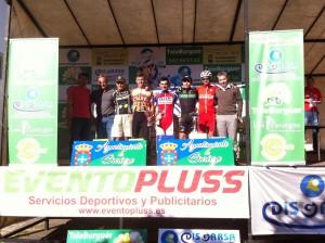 Podium Guriezo 2014. Foto: Deportes Fernando
