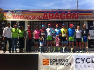 Vencedores Aragón 2014. Foto: Pedaleo.com
