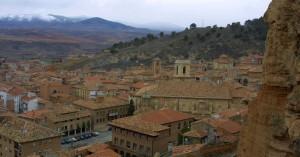 Vista panorámica de Daroca. Foto: Archivo Santiago Cabello