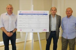 Presentación de los Campeonatos de España de la RFEC 2014