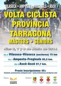 Cartel Volta a Tarragona
