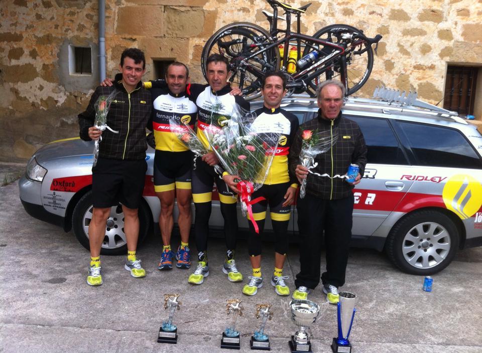Deportes Fernando. Segundo, primer M40, montaña y mejor equipo.