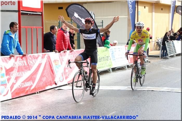 Magallanes vence el segundo sector. Foto: Pedaleo.com