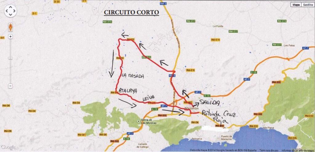 Circuito corto Campeonato de España de Mazarrón.