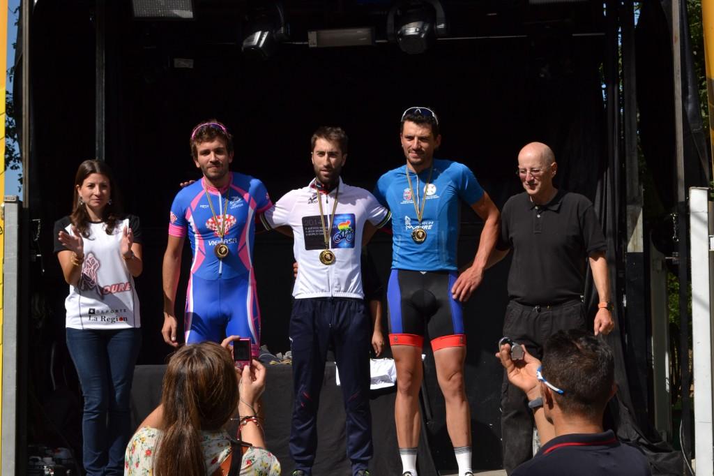 Podium M30. II Juegos Mundiales de Ciclismo