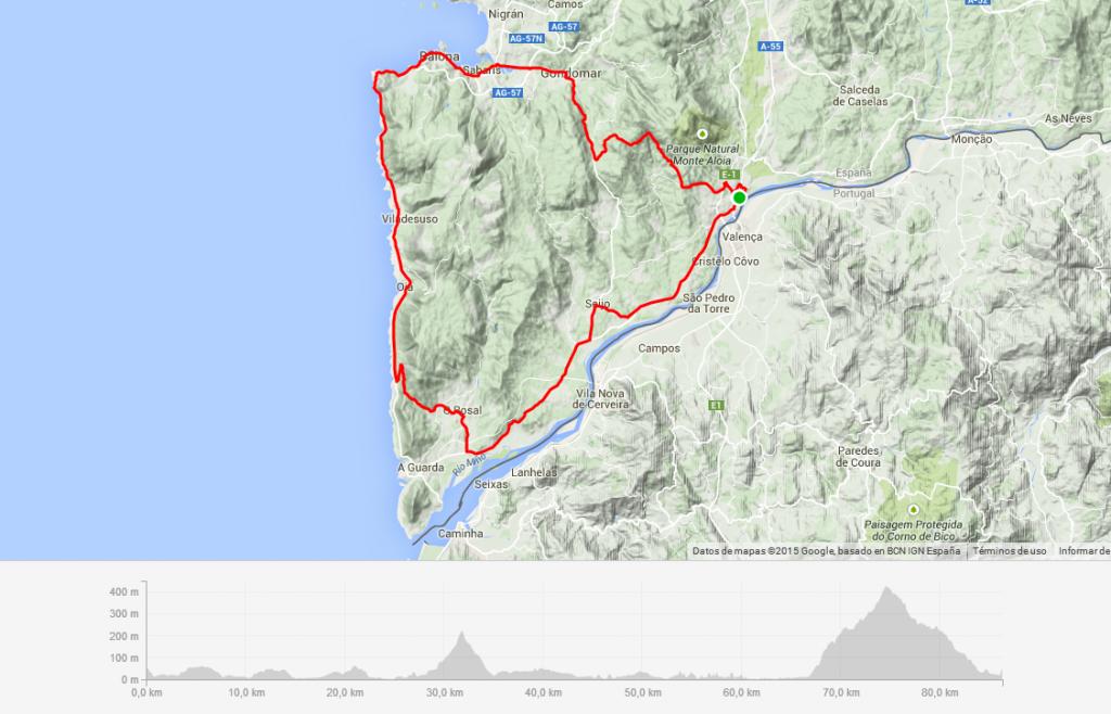 Etapa reina de la Vuelta a Galicia Máster