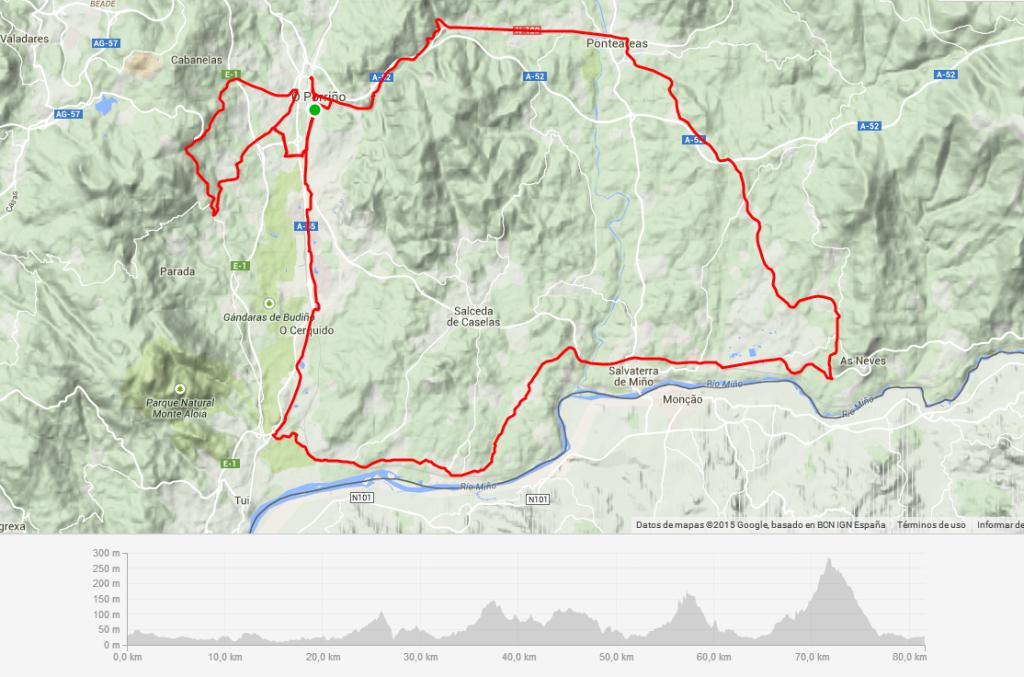 Primera etapa Vuelta a Galicia Máster 2015