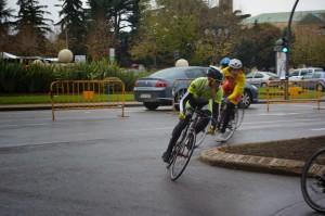 Paso de una de las diferentes mangas. Foto: Escuela Ciclista Manzanillo Paulino