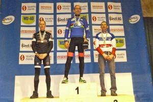 Podium 35 a 39 años. Foto: Federación Asturiana de Ciclismo
