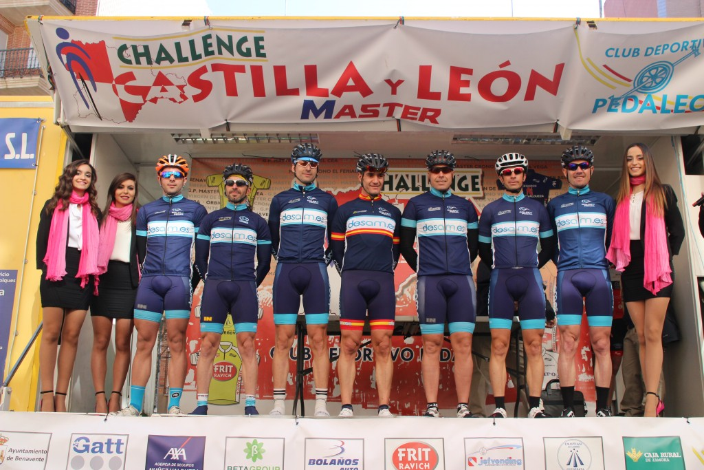 Desam.es en la Challenge de Castilla y León. Foto: Pedaleo.com