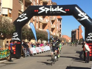 Pispajo vencedor de la primera etapa. Foto: David Rodríguez