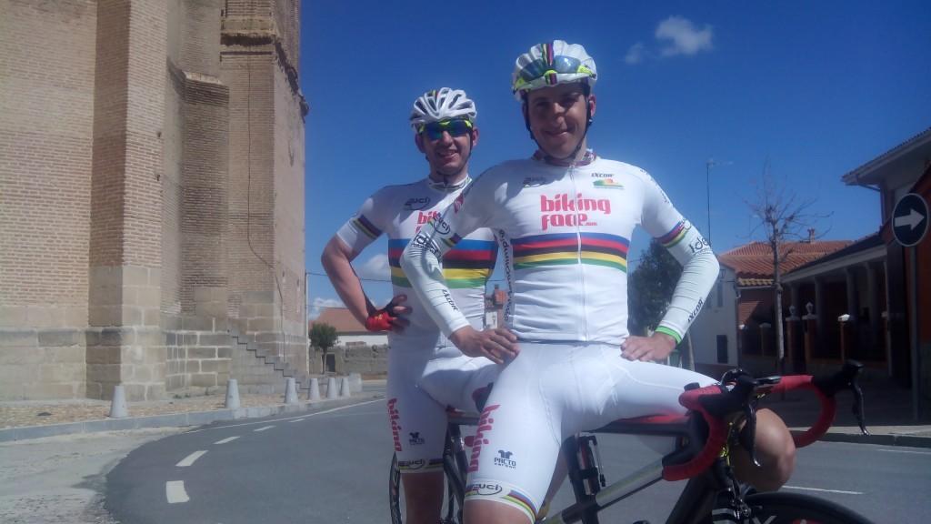 Carlos & Noel. Campeones del mundo (BikingFace)
