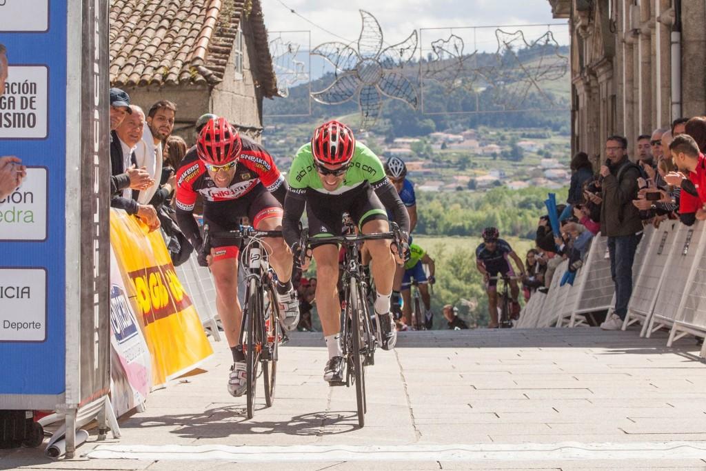 Llegada de la última etapa. Foto: Vuelta a Galicia Máster.