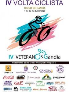 Cartel IV Vuelta Gandía