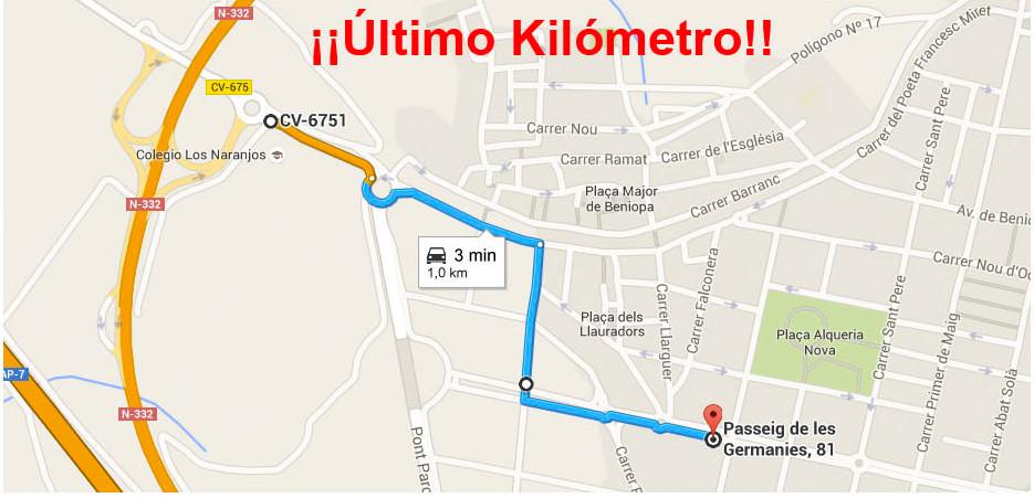 Último kilómetro
