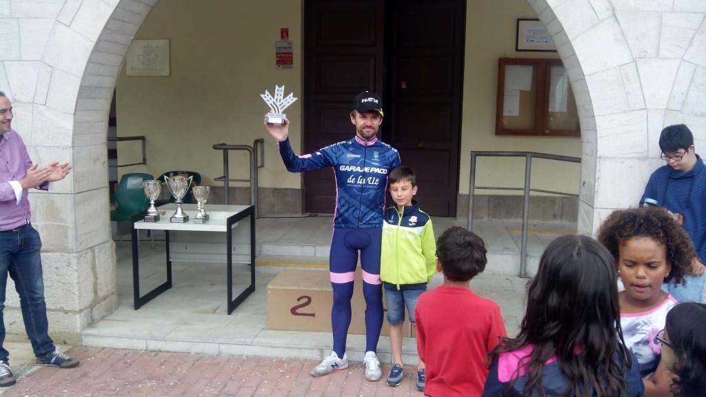 Metas volantes. Toribio recogió el premio de Castilla.