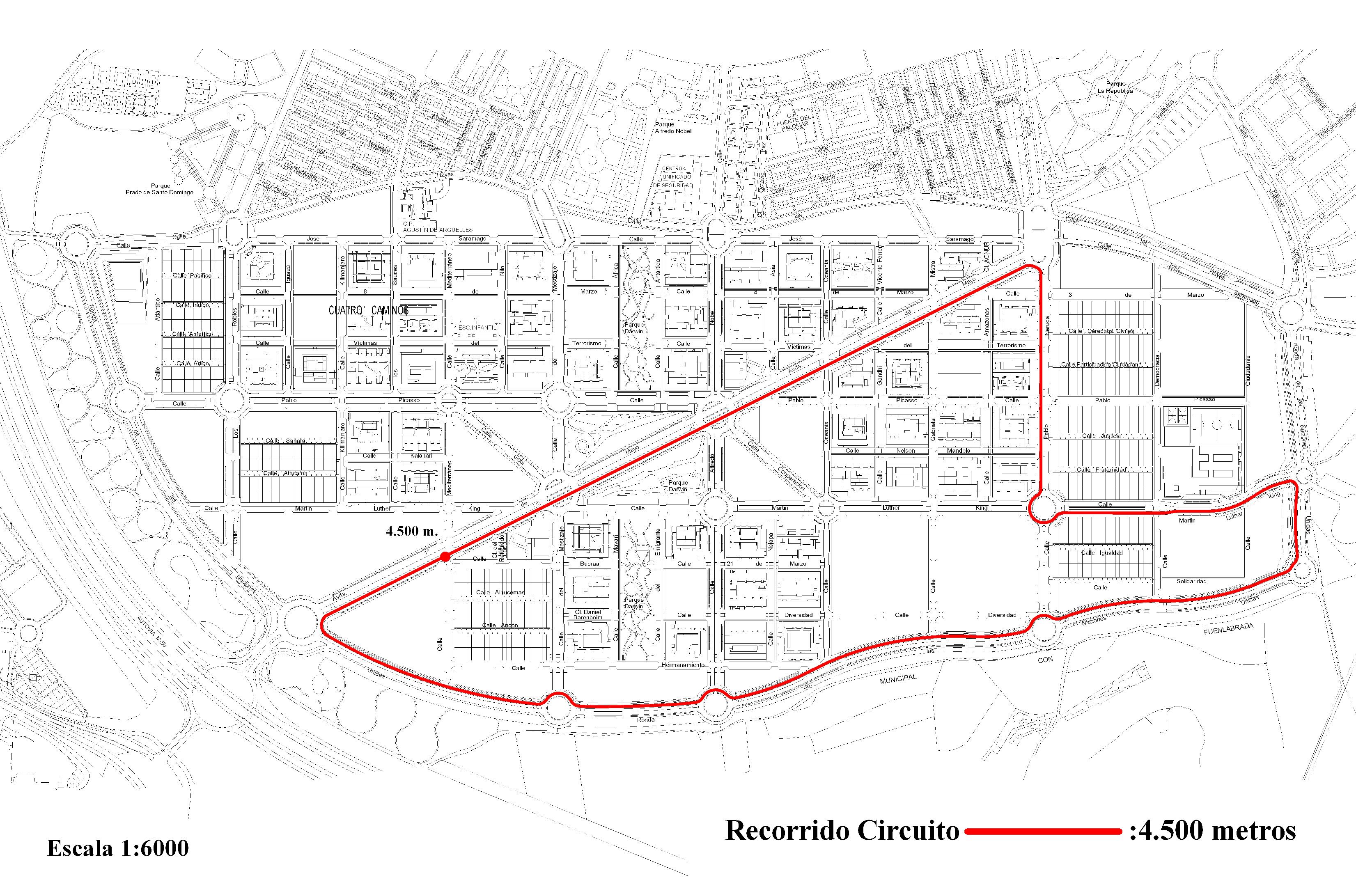 Plano criterium Alcorcón