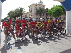 Salida. Foto: Penya Ciclista Ciutadella.