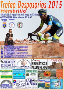 Cartel Trofeo Desposorios 2015
