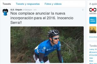 Fichaje Inocencio Serra
