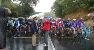 Salida Juegos Mundiales de ciclismo