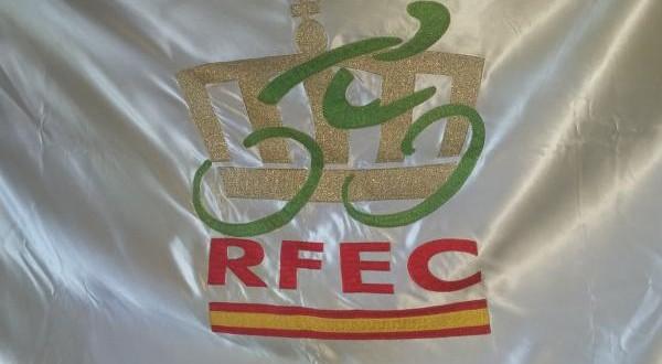 Bandera escudo RFEC