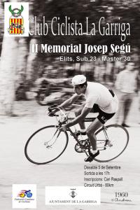 Cartel Memorial Josep Segú 2015