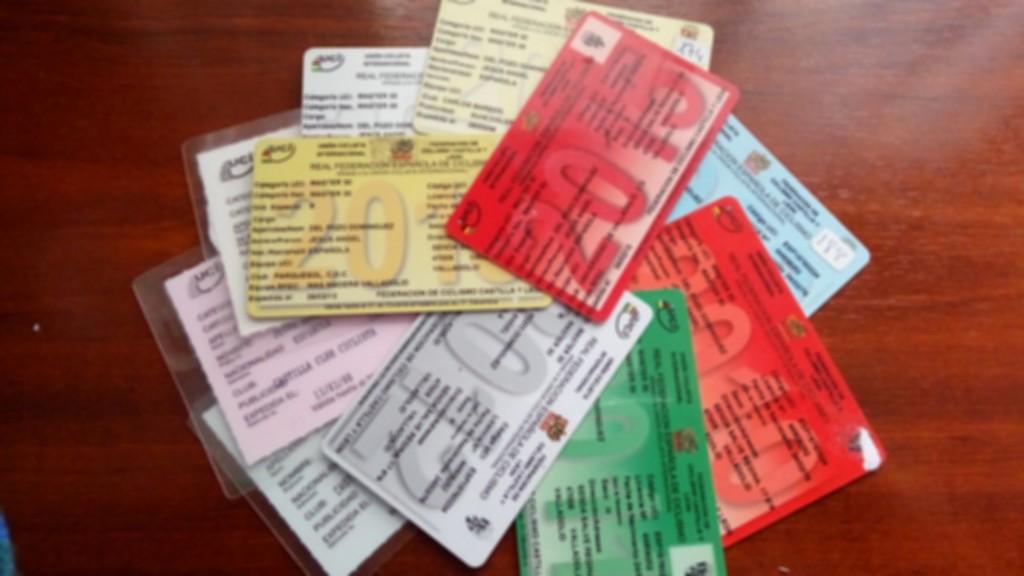 Licencias ciclismo