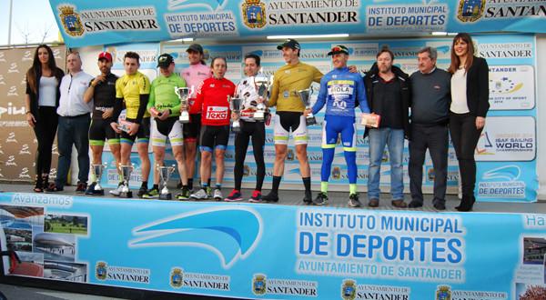Líderes Vuelta a Santander. Foto: Sportpublic