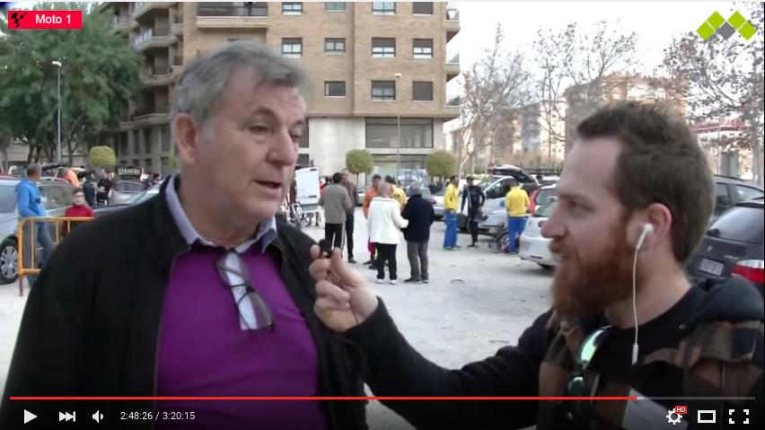 Amadeo Olmos entrevistado por Multimediastream en Elda.