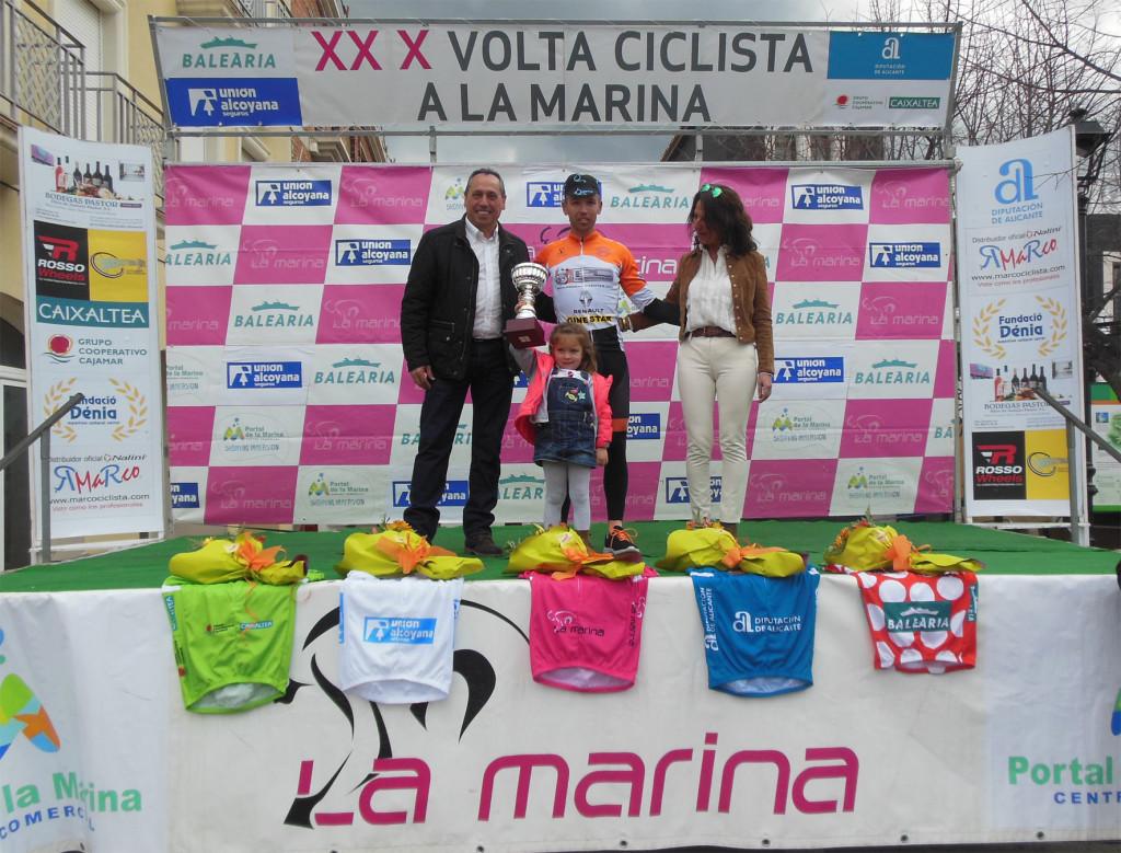 Vencedor de la etapa. Foto: Volta a La Marina