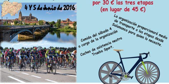 Apúntate esta semana a la Vuelta a Salamanca por tan sólo 30 €