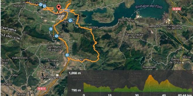 Análisis del recorrido del Campeonato de España para máster 30, 40 y junior