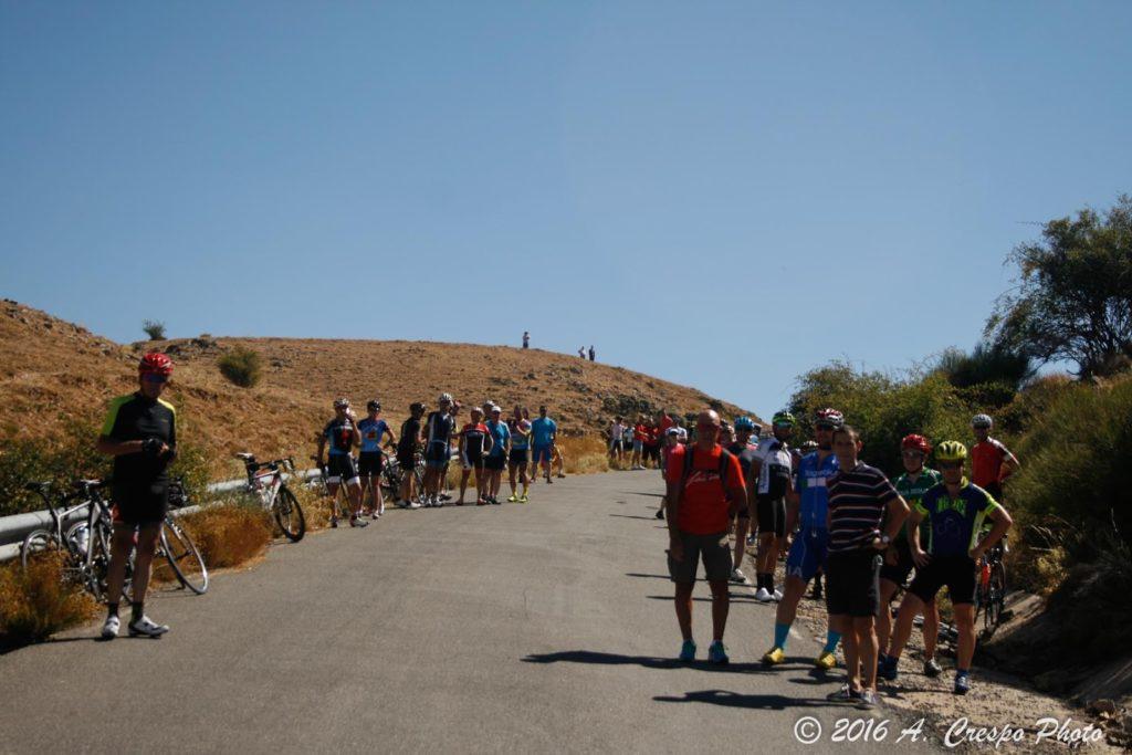 Espectadores en El Mediano. Foto: A. Crespo