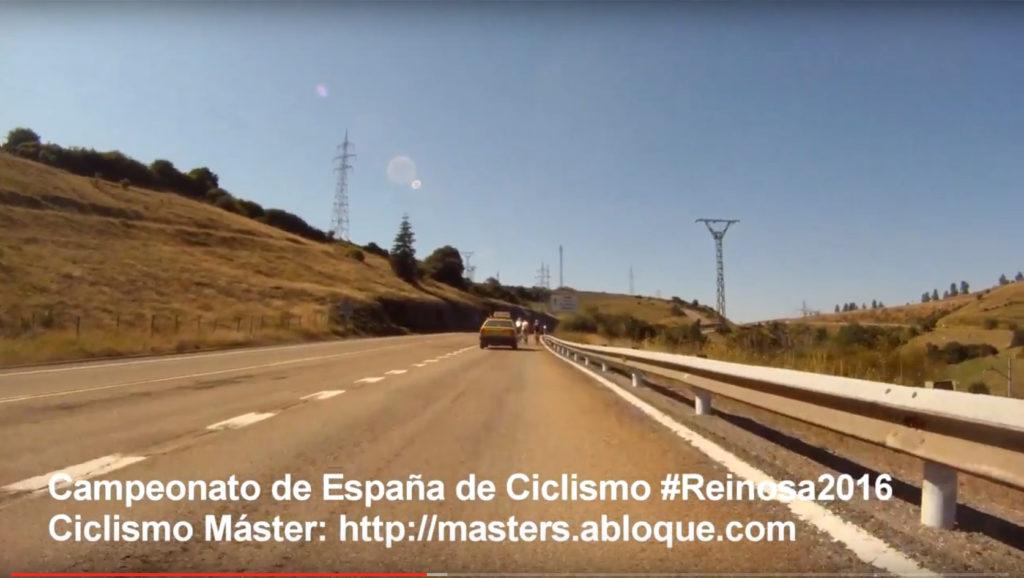 Subida por la nacional entre Cañeda y Reinosa.