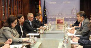 Reunión de Anna con el Ministro de Justicia