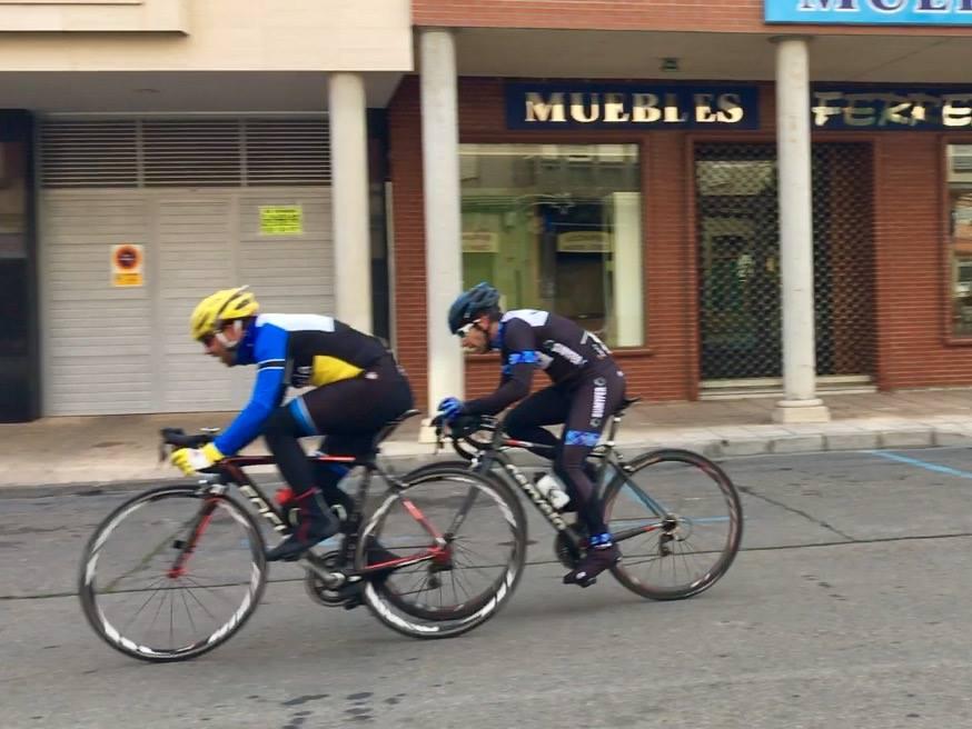 Escapados. Foto: Overbike Palencia