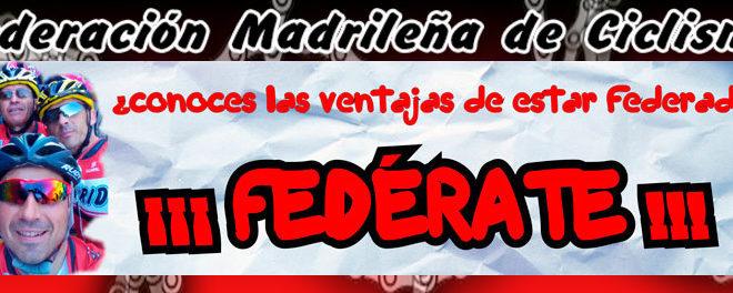 Precio licencia ciclismo Madrid 2018
