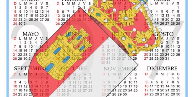 Calendario Castilla la Mancha 2018