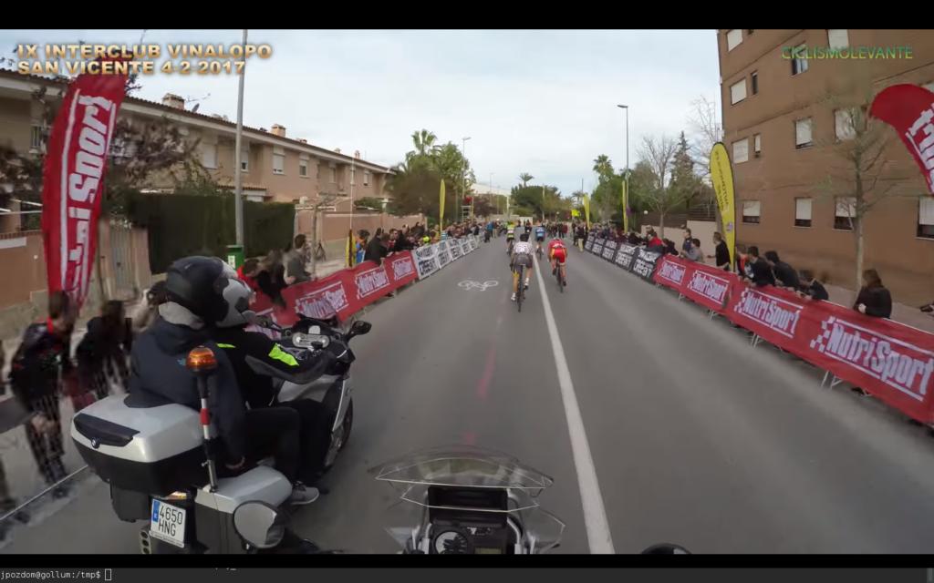 sprint San Vicente 2017