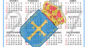 Calendario Asturiano 2017