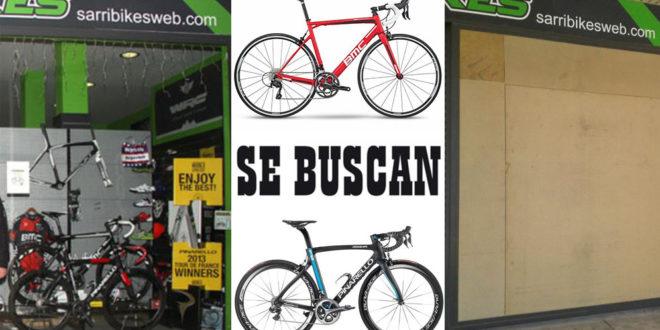 Roban dos bicicletas a Sarribikes