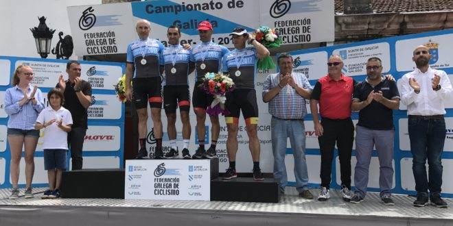 Positivos en el Campeonato Gallego Máster 2017 en Tui