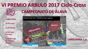 Ciclocross Arbulo 2017