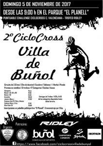 Ciclocross Buñol 2017