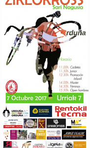 Ciclocross Orduña 2017