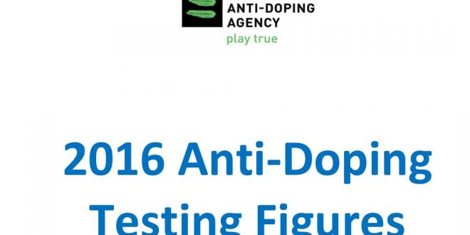 WADA publica el informe de los controles antidopaje de 2016