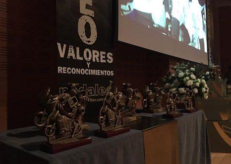 Emotiva V Gala Pedaleo 2017 Valores y Reconocimientos